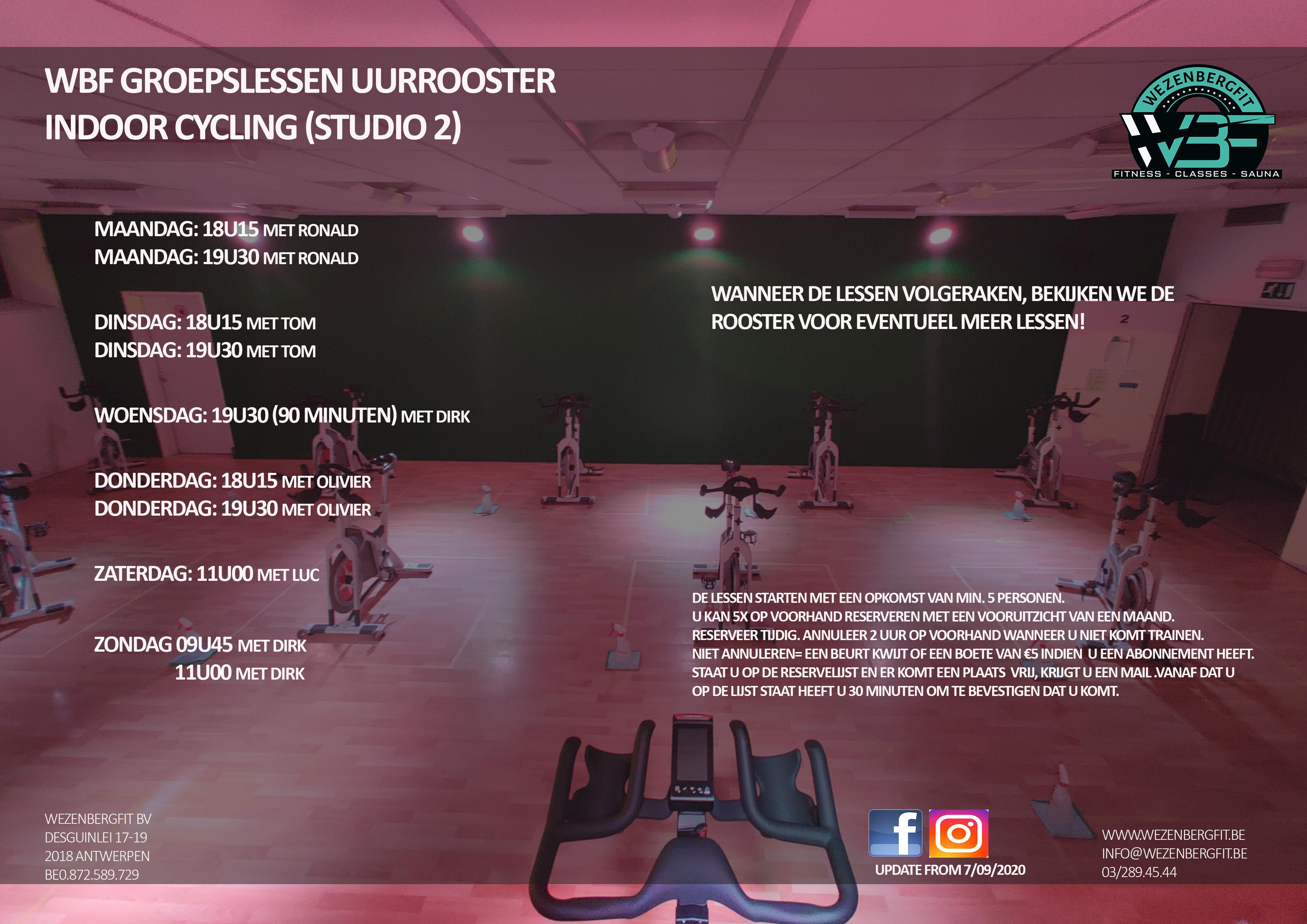 Indoor Cycling Wezenbergfit